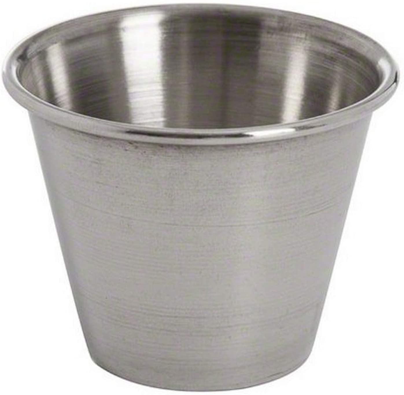 American Metalcraft MB1 2-1/2 oz Stainless Steel Sauce Cup