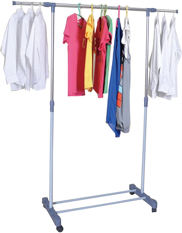 Unity Single Garment Rack - Telescopic Side Extensions - (31