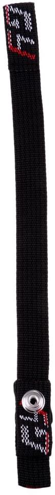 Prettyia Durable Nylon Webbing Sling Loop Replacement Chin Strap for Hockey Helmets, Black
