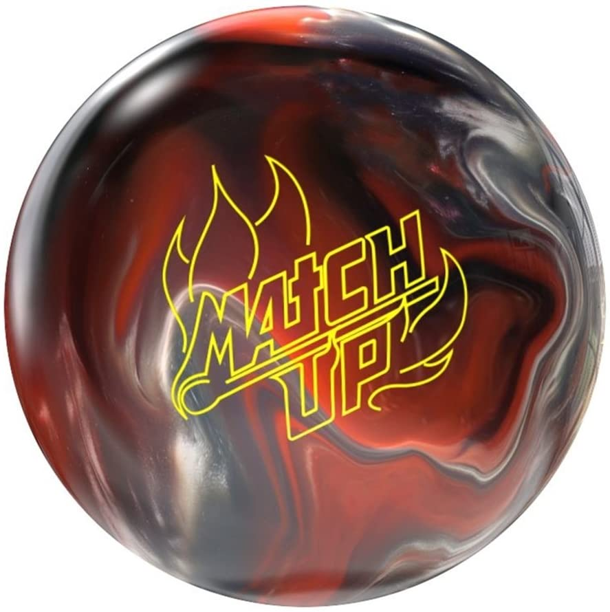Storm Bowling Products Match Up Pre-Drilled Bowling Ball- 12Lbs, Black/Orange/Silver, 12