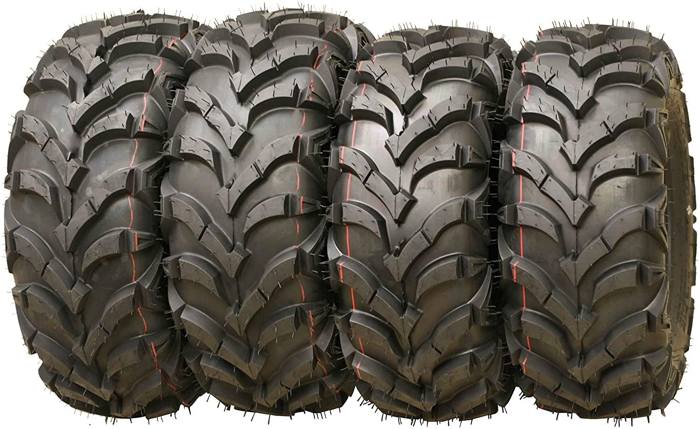 Set of 4 New AT MASTER ATV/UTV Tires 22x7-11 Front & 22x10-9 Rear /6PR P341-10250/10251 …