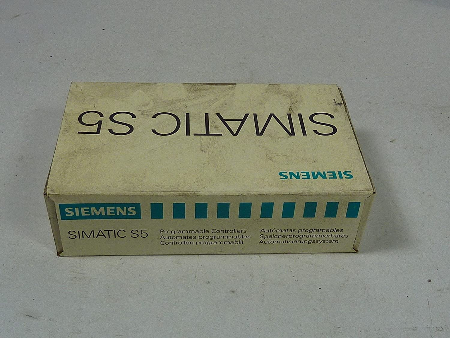 SIEMENS 6ES5700-8MA11 Discontinued by Manufacturer 01/10/2004, Bus Module, SIMATIC S5, for S5-100U/ET, with Terminal Block F, Screw Mount