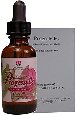 Progesterone Skin Oil Purer Than Progesterone Cream, NO Fragrance, Bioidentical, NO Preservatives (Booklet - First Time Buyers Only) 1oz, 800 mg/oz Double Strength