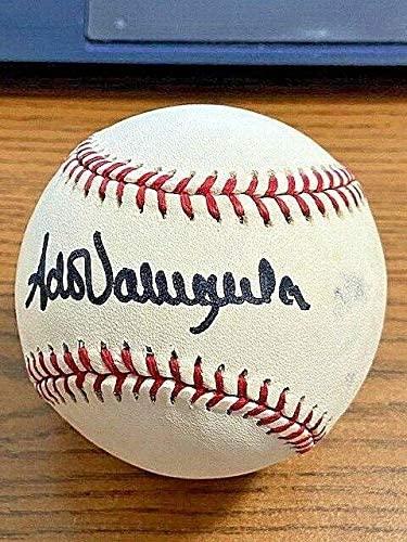 Fernando Valenzuela Signed Baseball - 3 PCL ! Padres! - JSA Certified - Autographed Baseballs
