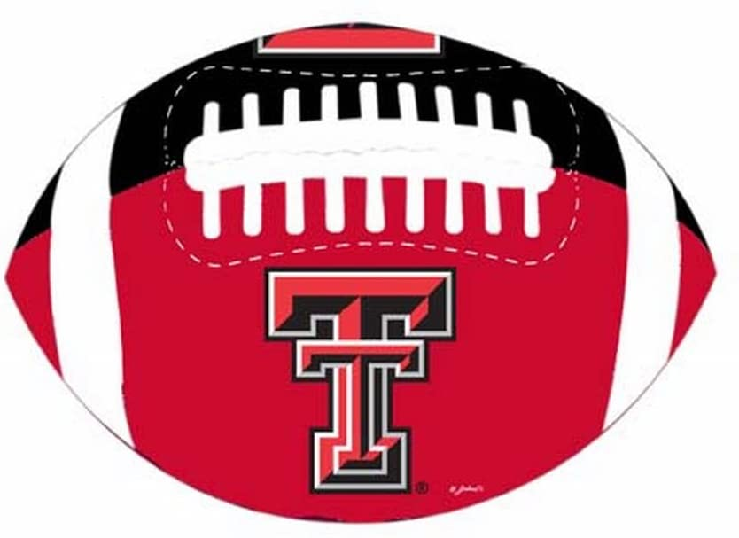 NCAA Texas Tech Red Raiders PVC Football