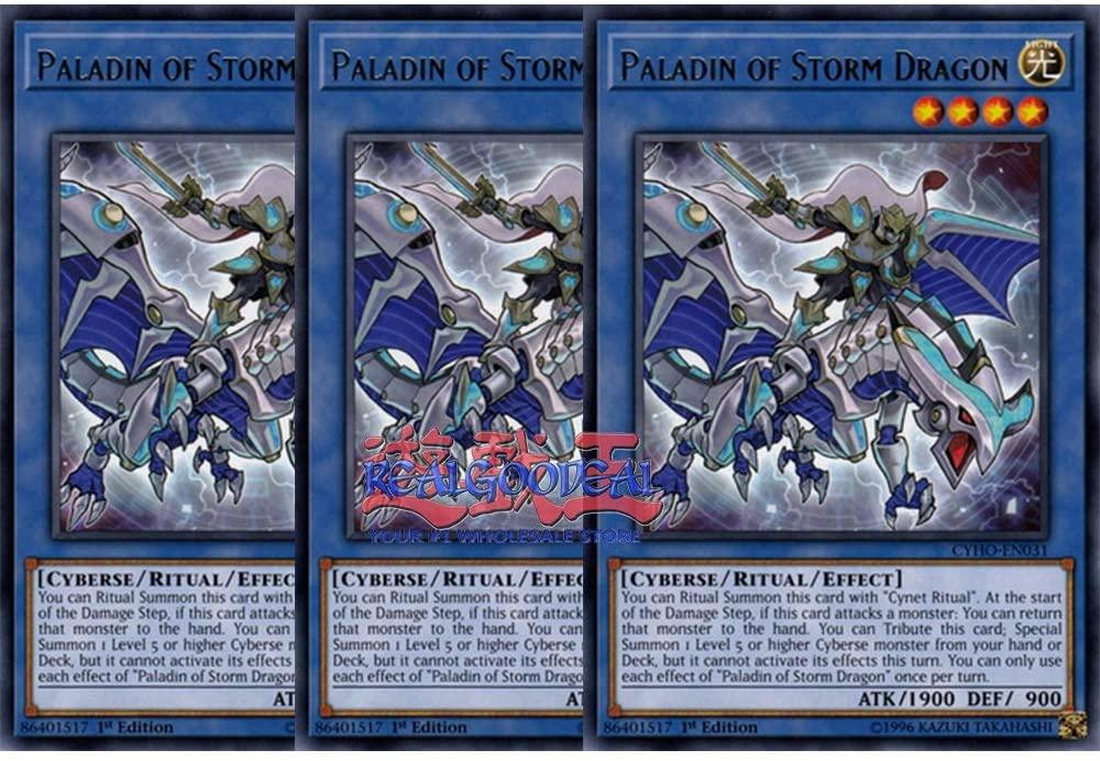 x3 Paladin of Storm Dragon MP19-EN096 Common ul