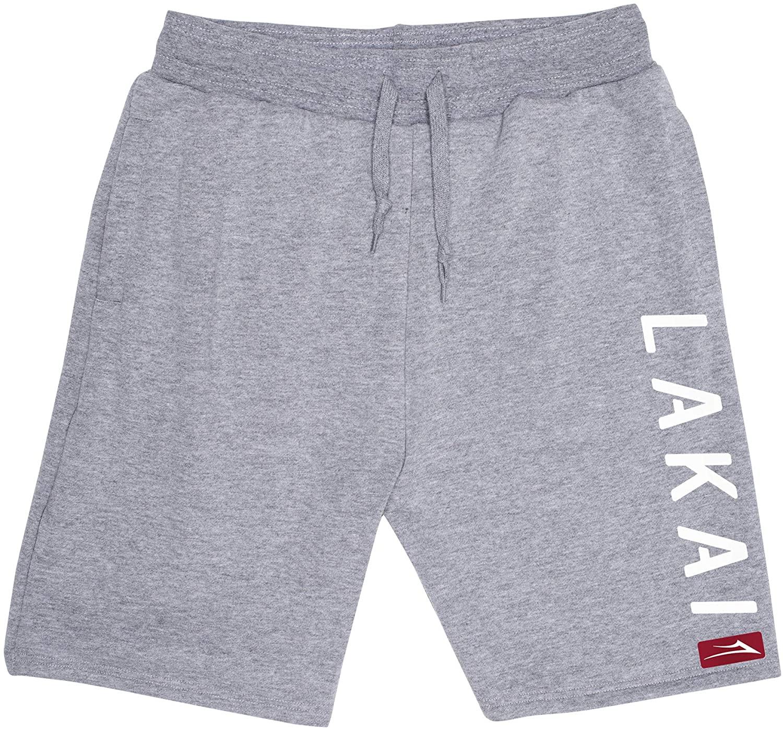Lakai Unisex-Adult's Court Short Athletic Heather