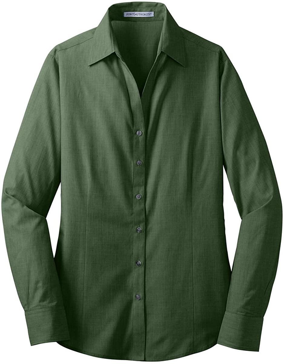 Port Authority; Ladies Crosshatch Easy Care Shirt. L640-simple
