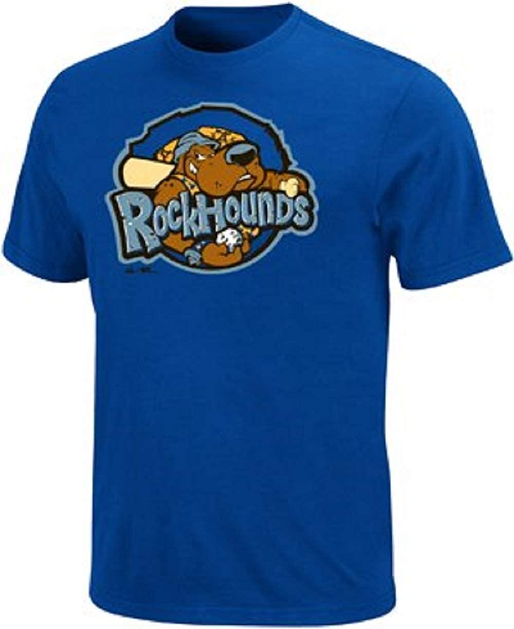 Majestic Minor League Midland Rockhounds T-Shirt Style Jersey