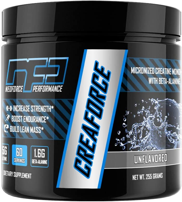 CREAFORCE Creatine and Beta-Alanine - Unflavored, 60 Servings