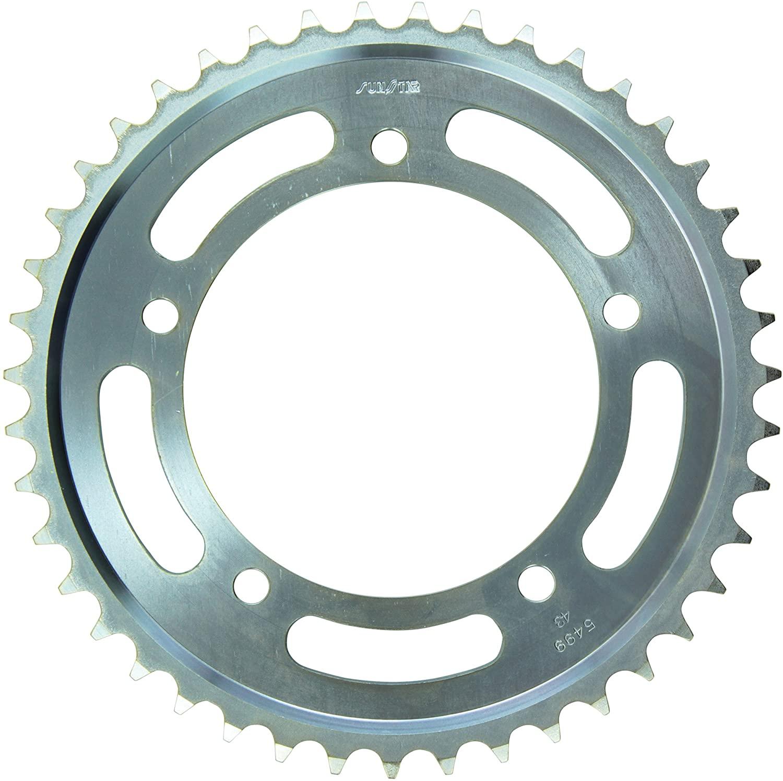 Sunstar 2-549943 43-Teeth 530 Chain Size Rear Steel Sprocket