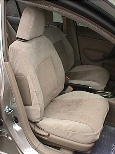 Durafit Seat Covers Made to fit 1994-1997 Honda Accord Dx/LX Sedan Seat Covers for Front Buckets. Console Cover Included.