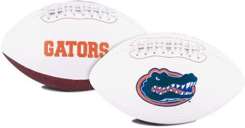Florida Gators Embroidered Logo Signature Series Full Size Football