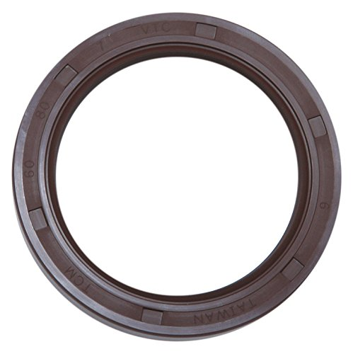 TCM 30X40X7VTF-BX FKM/Carbon Steel Oil Seal, TF Type, 1.181