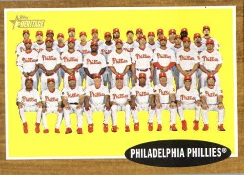 2011 Topps Heritage 294 Philadelphia Phillies Near Mint or better