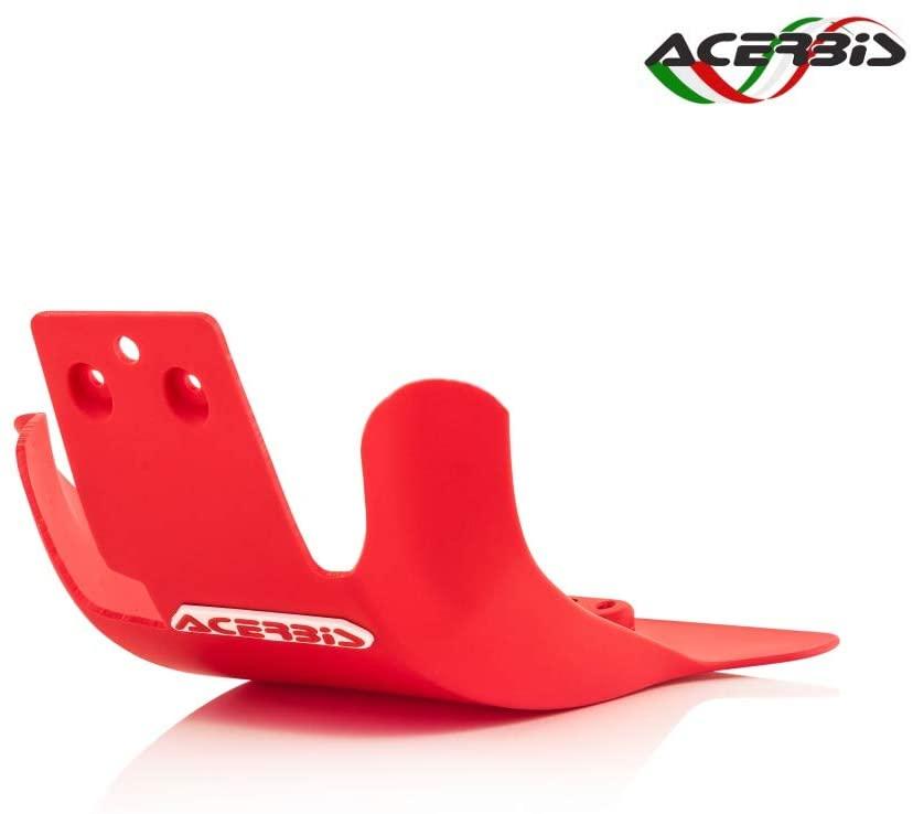 Acerbis 26887-70004 Skid Plate Red