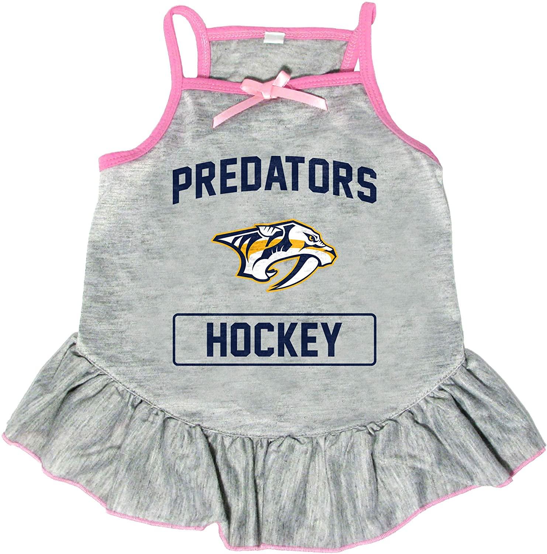 Littlearth NHL Nashville Predators Pet Dress, Small