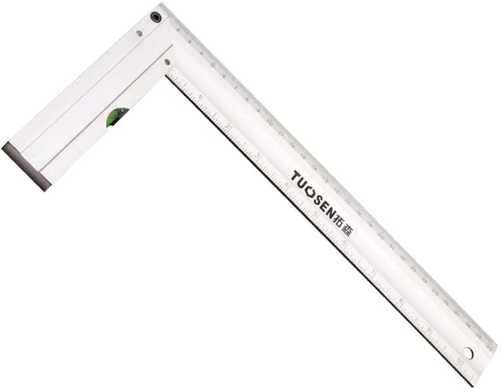 MrCartool Measuring Layout Tool Industrial grade Alluminum Level layout Tool Framing Square 300mm Length