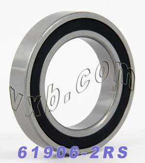 61906-2RS Bearing 30x47x9 Sealed Ball Bearings