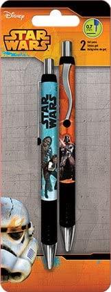 Star Wars Gel Pens - 2 Pk