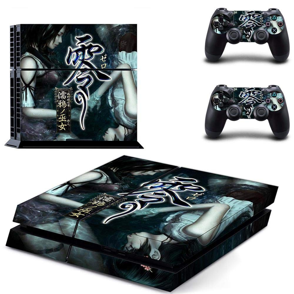Playstation 4 Skin Set – Japan Warrior - HD Printing Vinyl Skin Cover Protective for PS4 Console and 2 PS4 Controller by Mr Wonderful Skin
