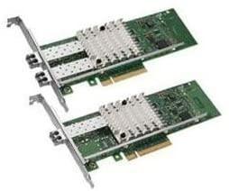 Intel X520-SR2 2-Port 10G SFP+ Ethernet, PCI-e E10G42BFSR 82599ES Converged Network Adapter, PCI-E (Renewed)