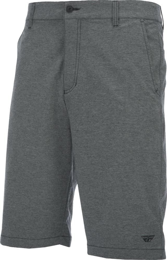 Fly Racing Unisex-Adult Pilot Shorts (Grey, Size 40)