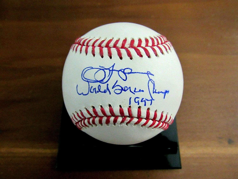 Signed Jim Leyland Ball - 1997 World Series Champs Florida Marlins - JSA Certified - Autographed Baseballs