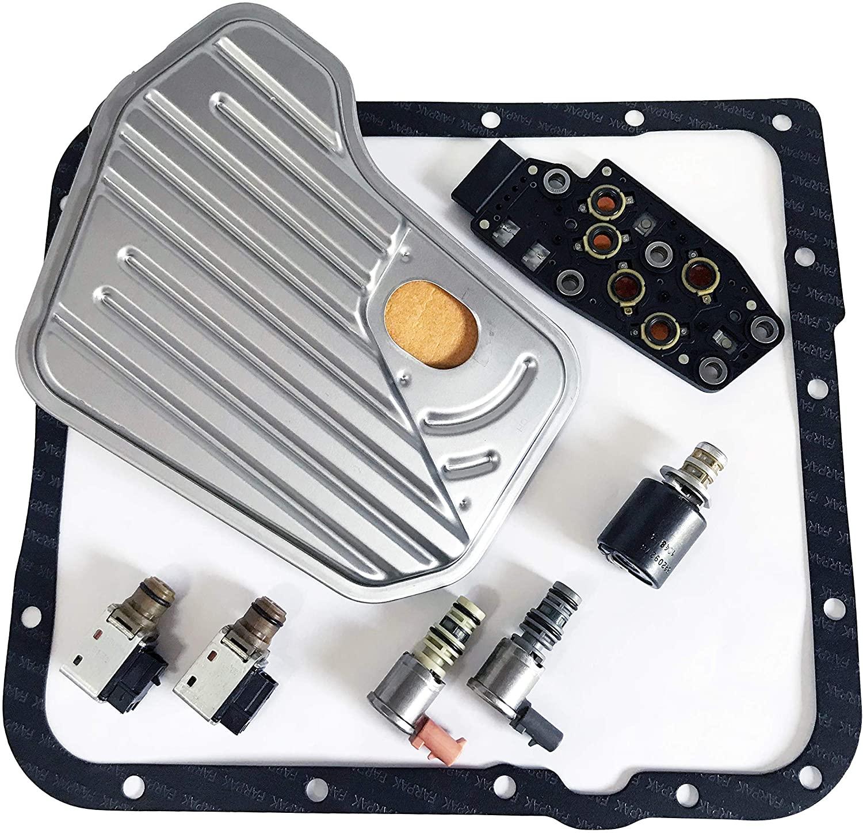 Reman 4l60e 4l65e Solenoid & Filter Kit Deluxe 03-07 GMC/Chevy
