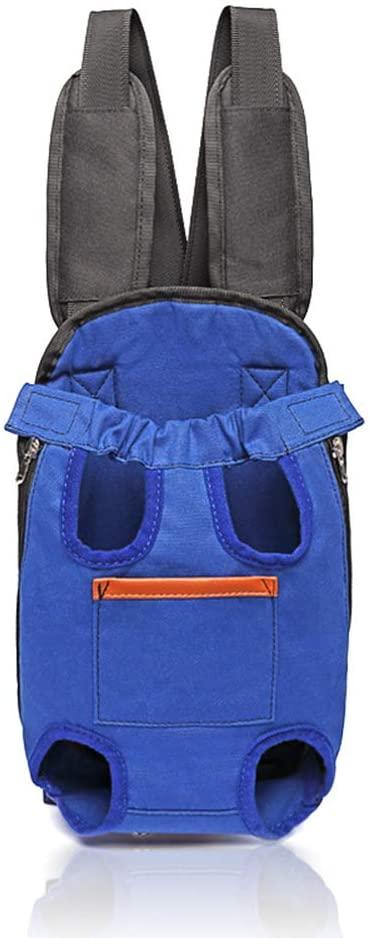 Pet Supplies Pet Cartoon Soft Bag Pet Chest Bag Breathable Dog Shoulder Bag Light Cat Four-Legged Bag
