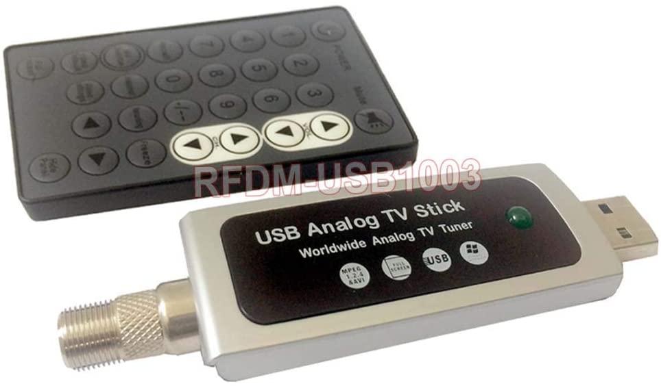 Universal RF Coax to PC USB TV Tuner DVR Adapter for CATV Satellite