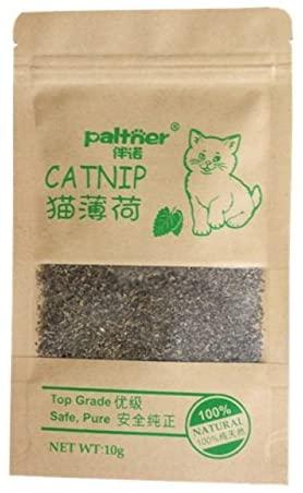 tongta 3pcs Fresh Organic Dried Catnip Nepeta cataria Leaf & Flower Herb Bulk