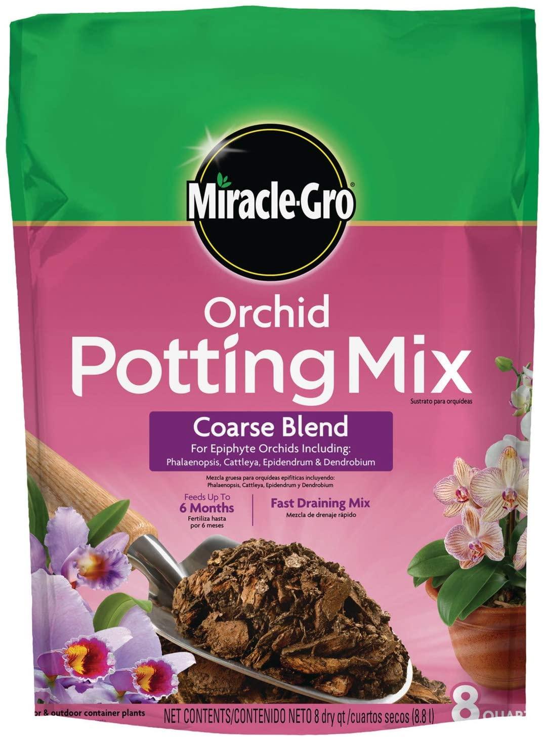 Miracle-Gro Orchid Potting Mix Coarse Blend, 8 qt.