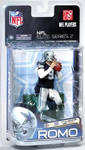 McFarlane Toys NFL Sports Picks NFL Elite 2011 Series 2 Action Figure Tony Romo (Dallas Cowboys)