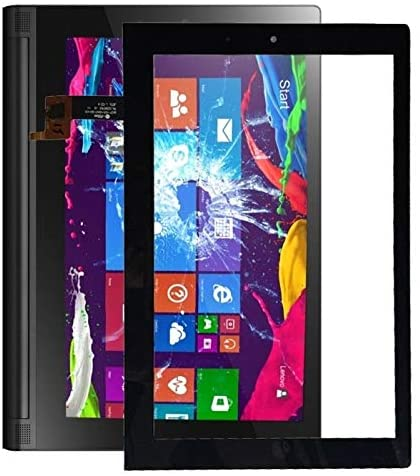 LUOKANGFAN LKKFF Cell Phones Screen Touch Panel Touch Panel for Lenovo Yoga Tablet 2/1051 / 1051L(Black) (Color : Black)