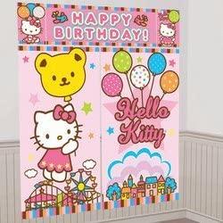 Sanrio - Hello Kitty Balloon Dreams Scene Setter Decoration Set