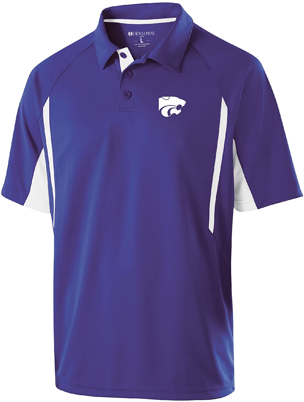 Ouray Sportswear NCAA Kansas State Wildcats Mens Mens Avenger Polo Short Sleeve