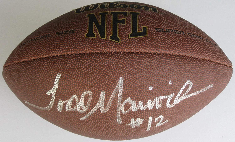 Todd Marinovich signed autographed football LA Raiders, USC Trojans, COA proof - Autographed College Footballs