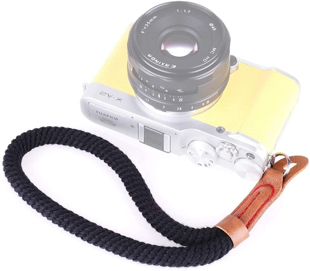 Fashion Convenience Durable Vintage Cotton Soft Hand Strap Grip Wrist Strap for DSLR/SLR Cameras Pretty