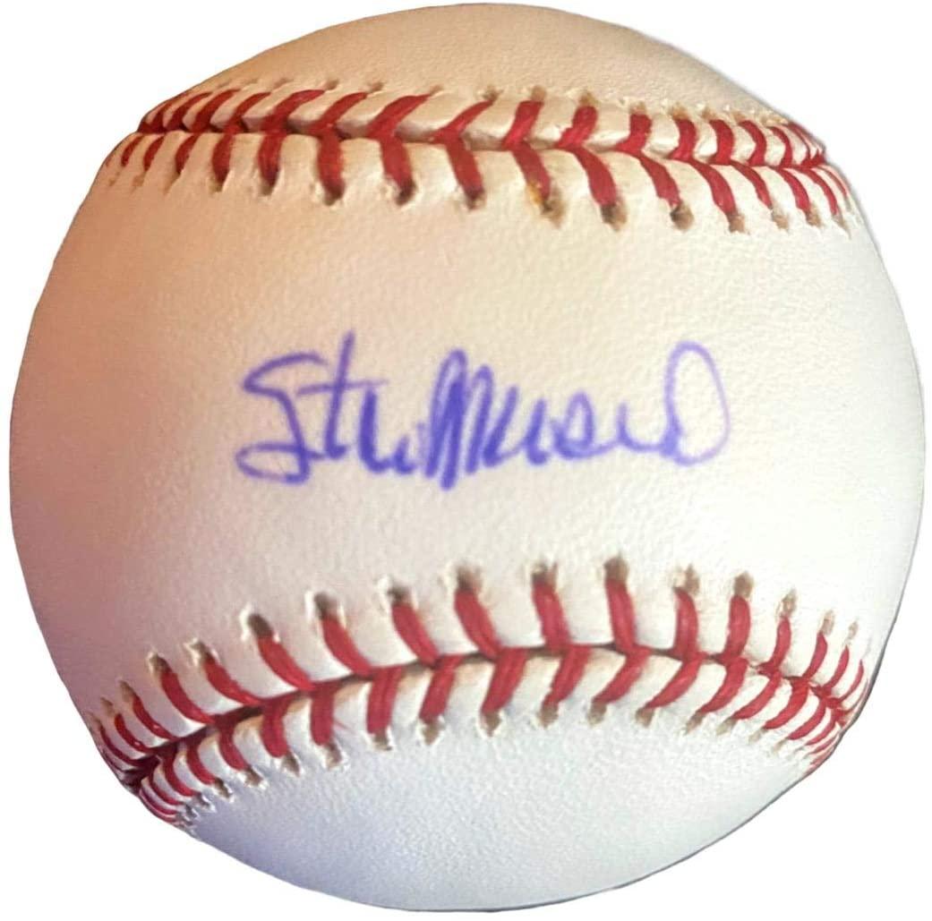 Stan Musial Signed Baseball - Autographed Baseballs