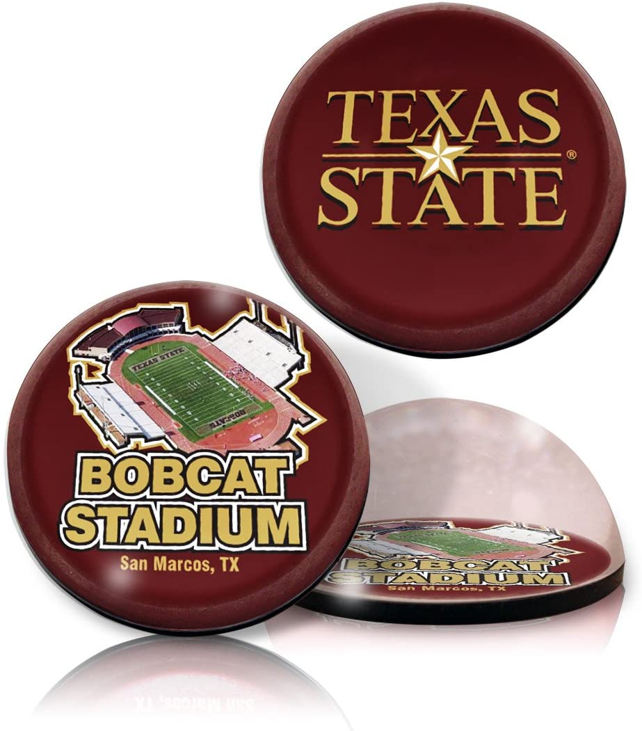 NCAA Texas State University Bobcats stadium and star in 2