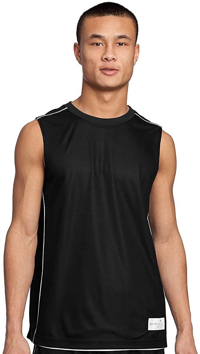 SPORT-TEK Men's Reversible Sleeveless Athletic T-Shirt