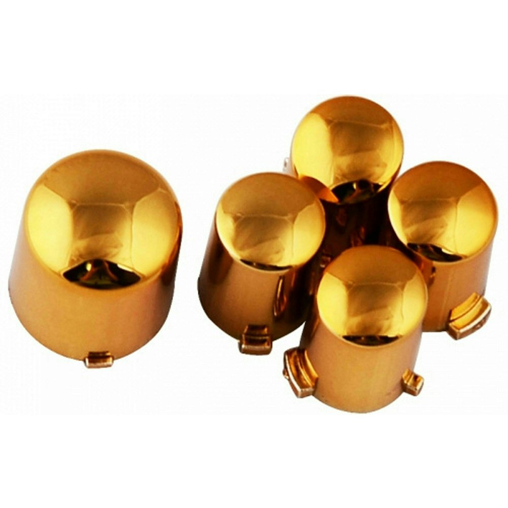 ModFreakz™ ABXY/Guide Button Kit Chrome Gold For Xbox 360 Controller