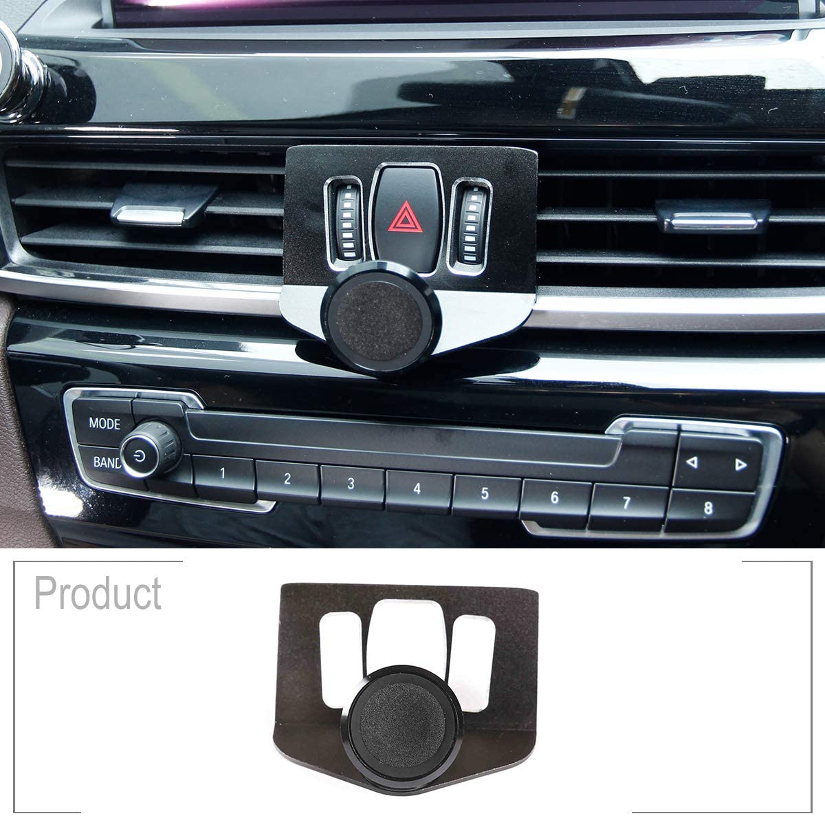 TongSheng for BMW X1 F48 2016 2017 2018 2019 2020 Car Air Vent Mobile Phone Holder Magnetic Car Phone Holder Car Accessories
