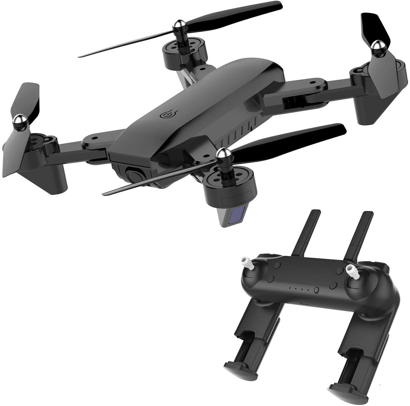 BABRIC Biff-2 GPS FPV Drone with 1080P HD Camera, Gesture Control RC Quadcopter for Beginners with Altitude Hold, Gravity Sensor, RTF One Key Take Off/Landing, Foldable Arms, Bonus Battery