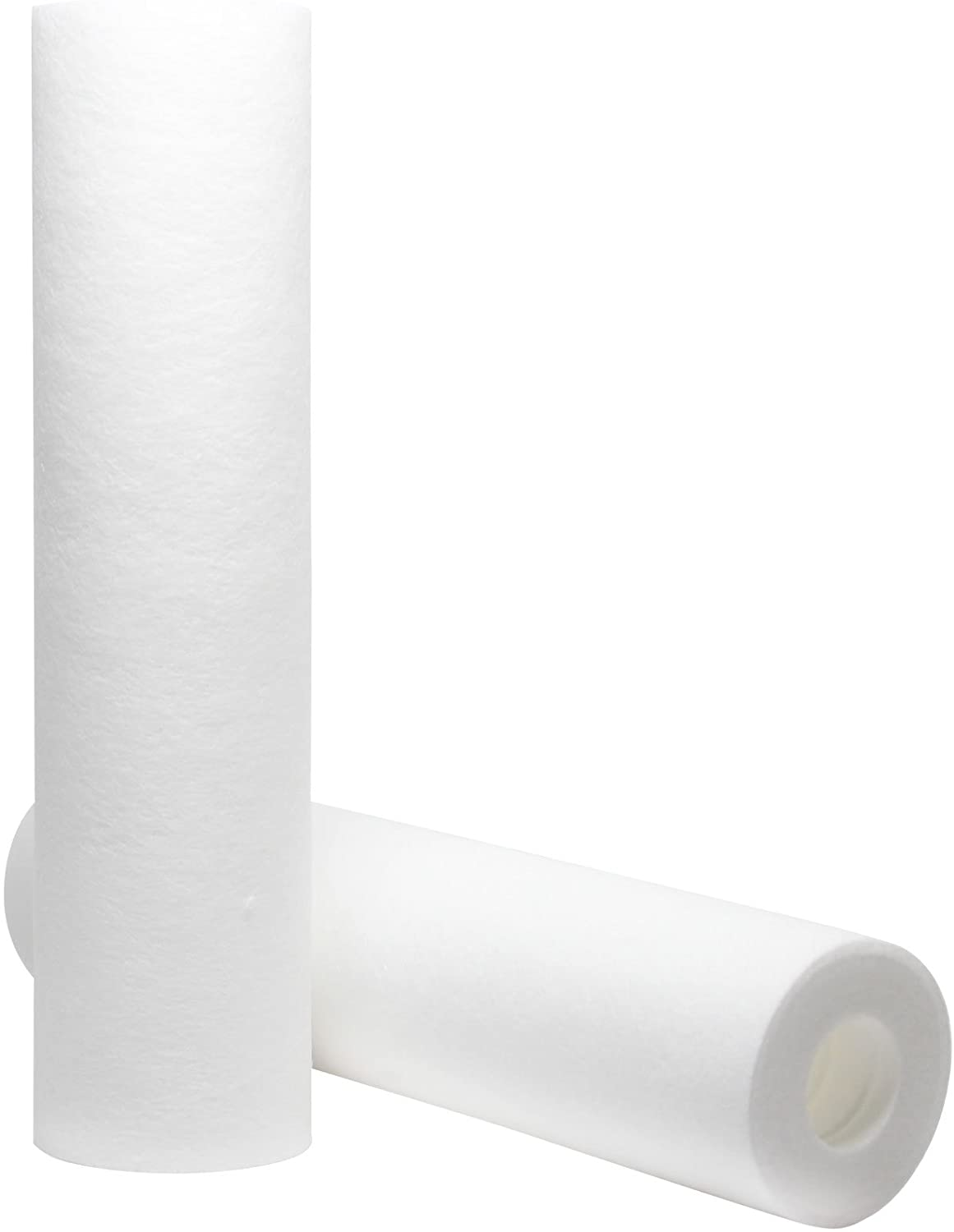 2-Pack Replacement for Hydronix HF2-10BLBK38 Polypropylene Sediment Filter - Universal 10-inch 5-Micron Cartridge Compatible with Hydronix HF2-10BLBK38 NSF listed 10