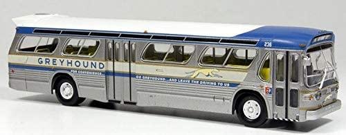 Greyhound Rapido Fishbowl Diecast Model Bus 1:87 Scale HO Scale Rare! 1964 World's Fair Coach #236