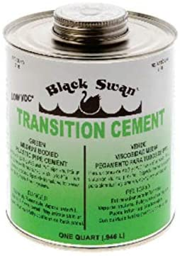 FixtureDisplays Transition Cement (Green) - Medium Bodied 07130-BLACKSWAN-1PK-NF No