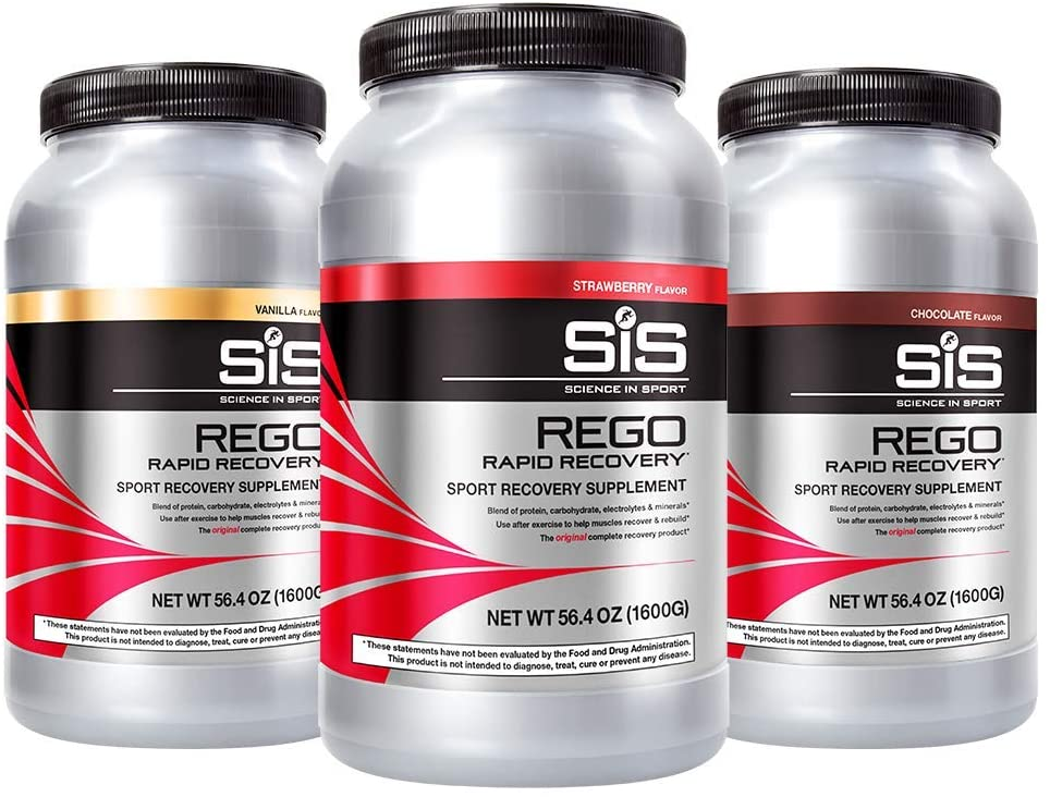 Science in Sport Rego Rapid Recovery Protein Shake Powder, Chocolate Flavor Post Workout Supplement Drink - 3.52 Lb
