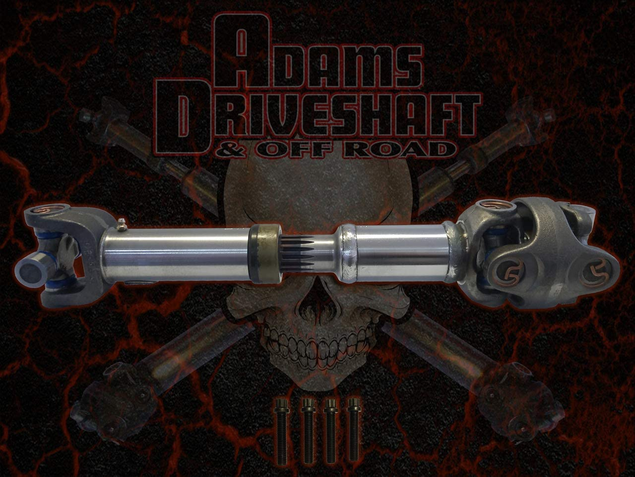 ADAMS DRIVESHAFT YJ Rear 1310 CV Driveshaft 1994-1995 [Extreme Duty Series]